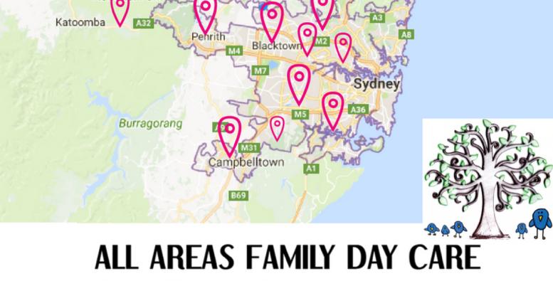AAFDC Locations Sydney Metropolitan Districts
